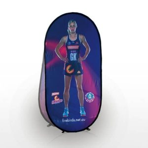 Vertical Pop Up Banner CA13233Various Colours Branded