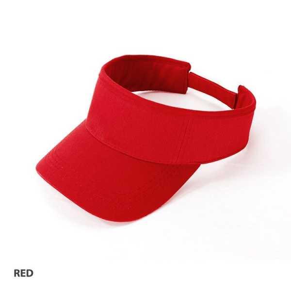 Visor Cap AH165 Red