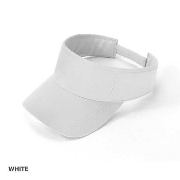 Visor Cap AH165 White