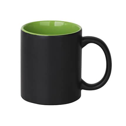 Volcano Ceramic Coffee Mugs Green