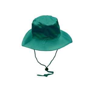 Wide Rim Hat With Breakaway Strap H1035 Green
