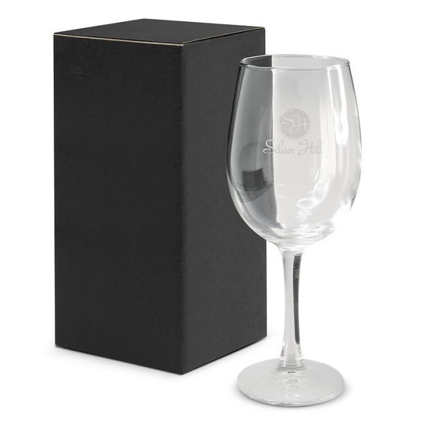Wine Glass 105633 Single in Black Gift Box
