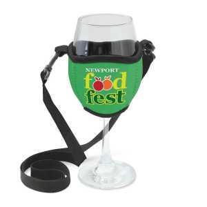 Wine Glass Holder CA110790 Green Large