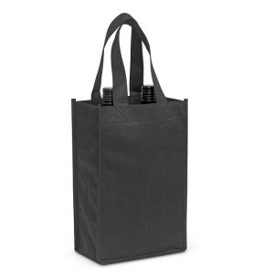 Wine Tote Bag Double 107681 Black 1