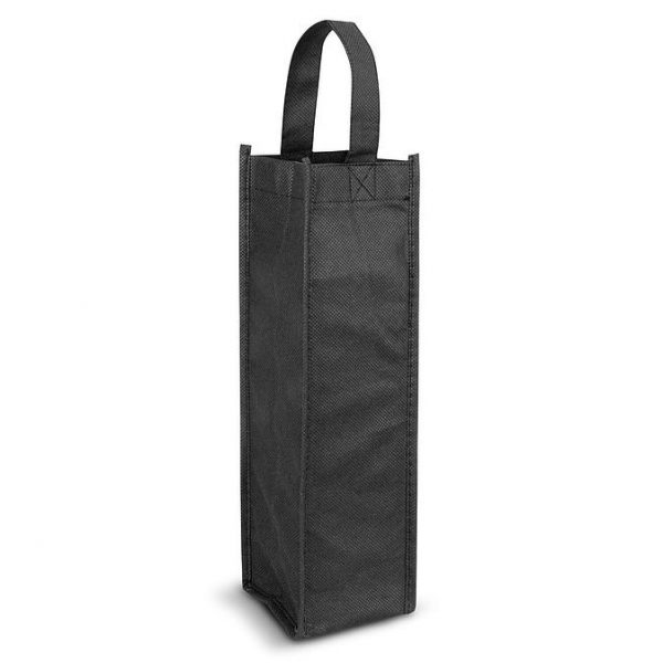 Wine Tote Bag Single 107680 Black