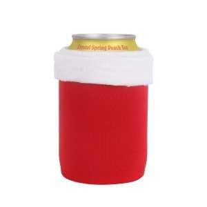 Xmas Stubby Holder CAPCN008 Red White