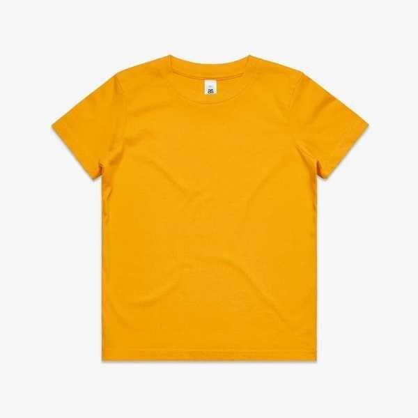 Youth T Shirts 3006 Yellow