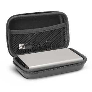 Z Power Bank CA115629 Silver in Black Case