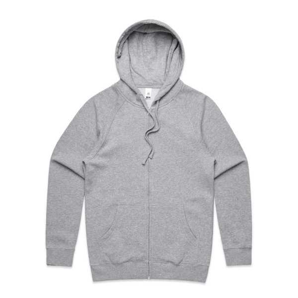 Zip Hoodie Grey Marle