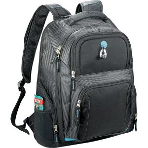 Zoom Checkpoint Friendly Compu Backpack ZM1007BK Black Front
