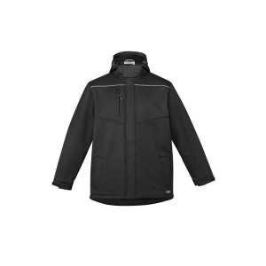 Antartic Soft Shell Jacket Unisex CAZJ253 Black Front Workwear Unisex Jacket