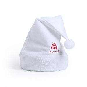 Cestilox Christmas Hat CAM5900 Christmas White with Branding