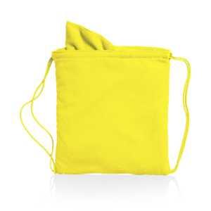 Drawstring Towel Bag Kirk CAM4563 Yellow