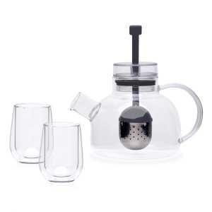 Glass Tea For Two Set CAPOTF2S