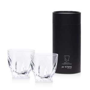 Highland Whisky Glass Set CAPOHWGS with Black Gift Tube
