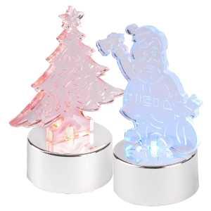 Krilyn Light Up Christmas Decorations CAM4693 Christmas Santa and Christmas Tree