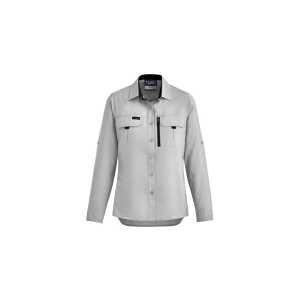 Outdoor Long Sleeve Shirt Women CAZW760 Stone Front Workwear Shirt