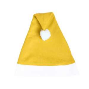 Papa Noel Christmas Hat CAM8622 Yellow