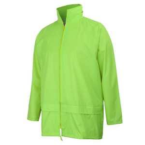 Rain Jacket Unisex CA3ARJ Lime Workwear Jacket