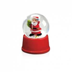 Sasky Santa Snow Globe CAM3800
