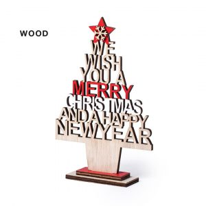 Sokin Merry Christmas Sign CAM6663 Wooden Christmas Sign on Stand