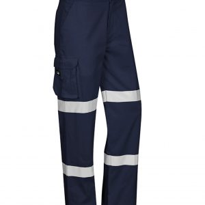 Stout Biomotion Taped Pants Mens CAZP920S Navy Front Workwear Mens Pants