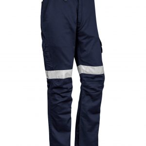 Stout Taped Rugged Cooling Pants Mens CAZP904S Navy Front Workwear Mens Pants