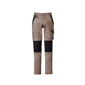 Streetworx Tough Pants Mens CAZP550 Khaki Front Workwear Mens Pants
