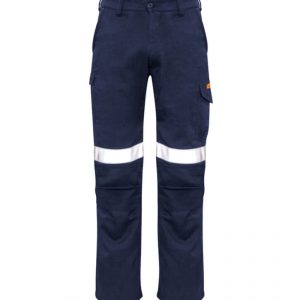 Taped Cargo Pants Mens CAZP521 Navy Front Workwear Mens Pants