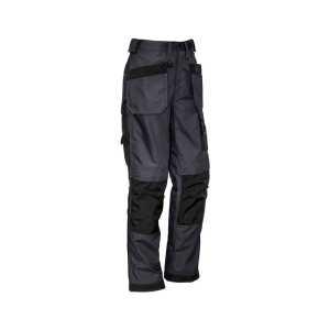 Ultralite Multi Pocket Pants Mens CAZP509 Charcoal Black Front Side Workwear Mens Pants