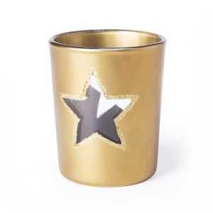 Zamir Christmas Candle Set CAM5595 Gold