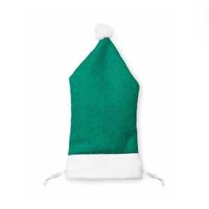 Zisuk Smart Phone Santa Hat Drawstring Pouch CAM4258 Chraistmas Green