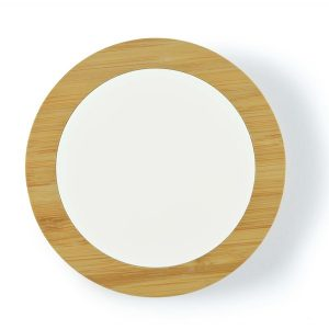 Ranger Fast Wireless Bamboo Charger CALL0271 Natural Unbranded Top View